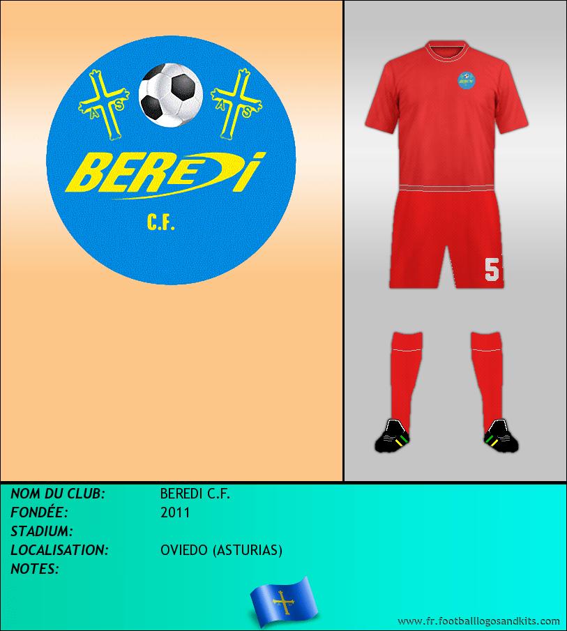 Logo de BEREDI C.F.