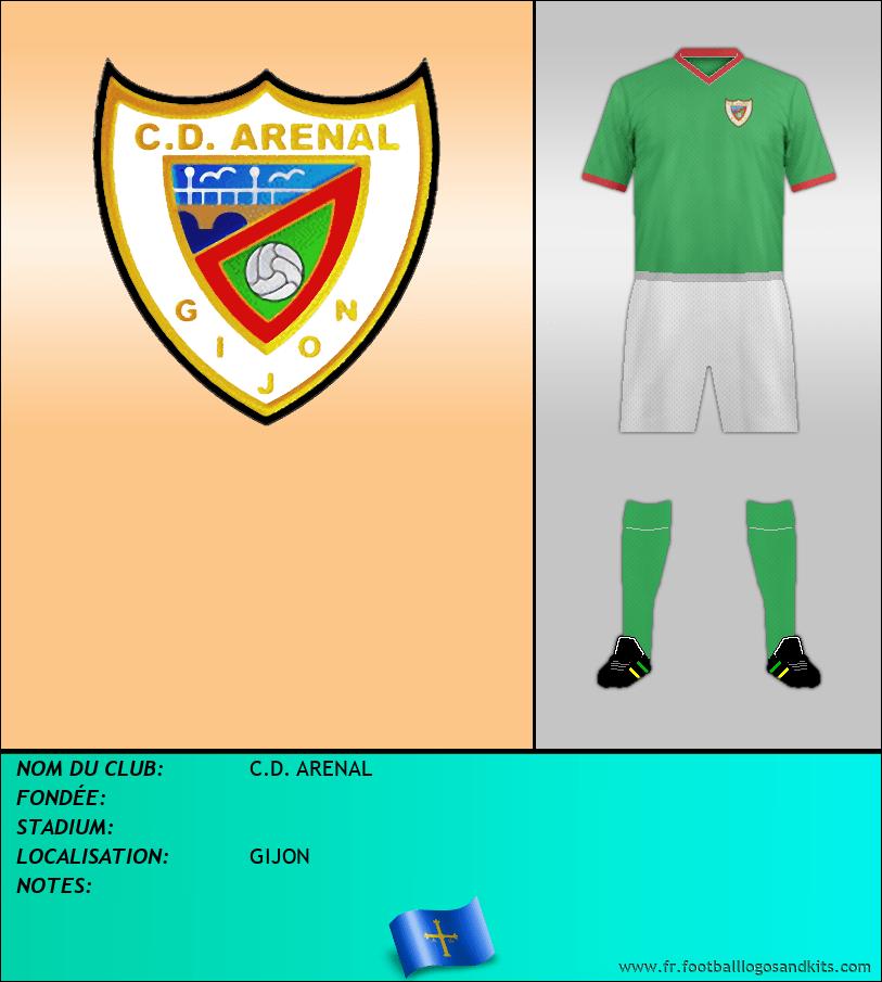 Logo de C.D. ARENAL