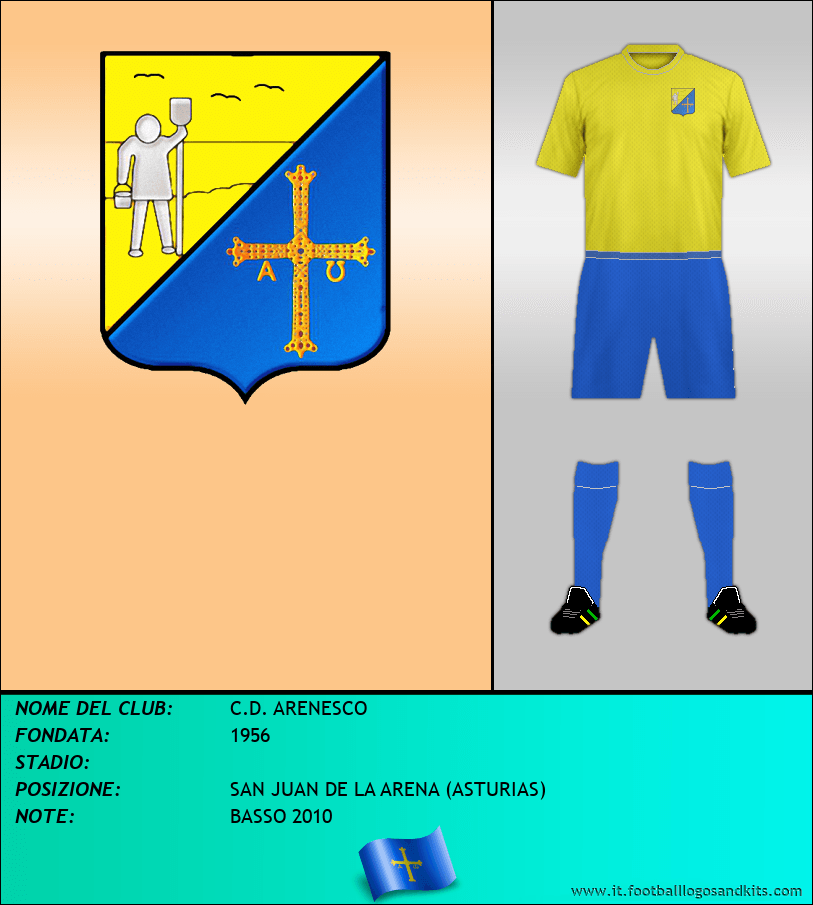 Logo di C.D. ARENESCO