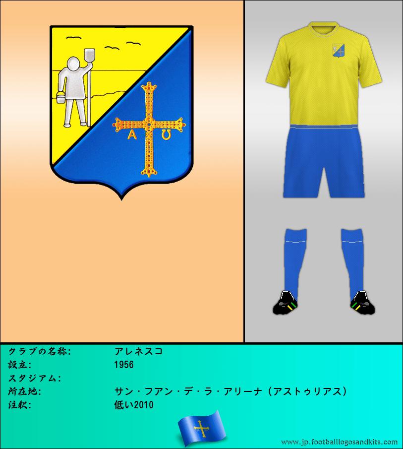 のロゴC.D. ARENESCO