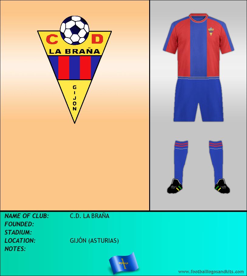 Logo of C.D. LA BRAÑA