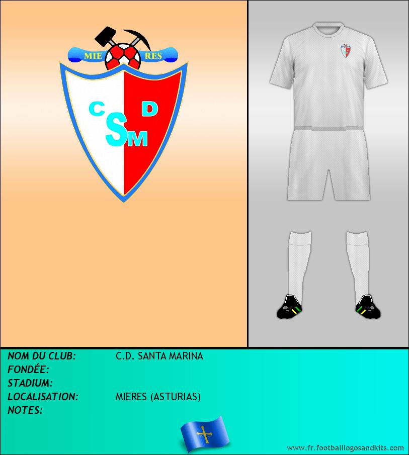 Logo de C.D. SANTA MARINA