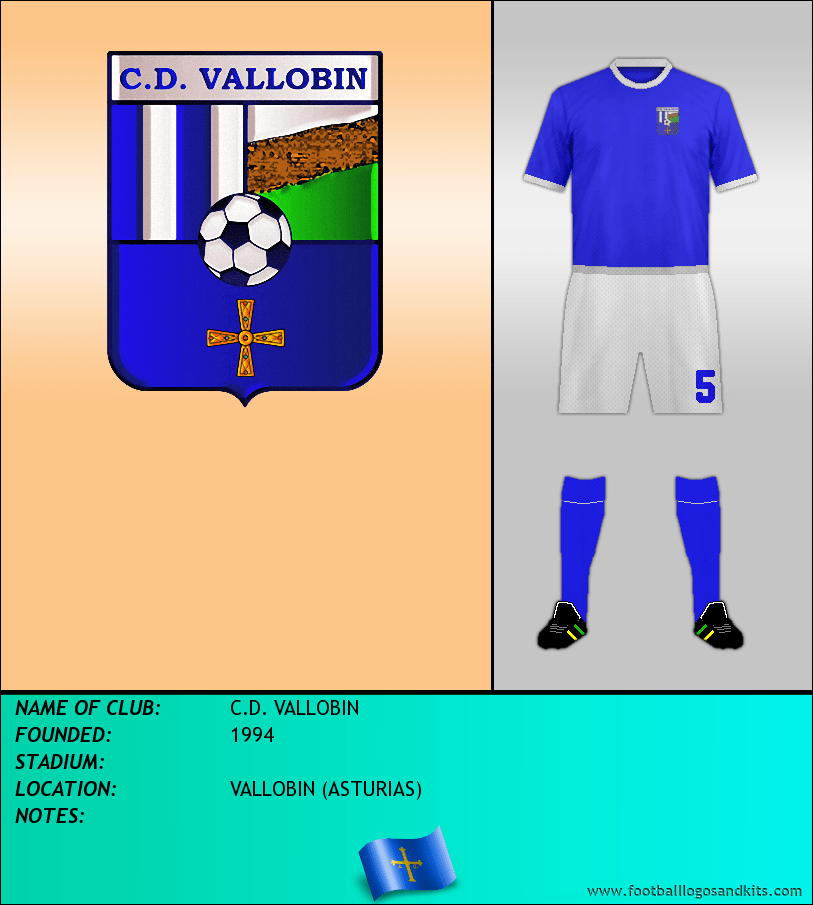 Logo of C.D. VALLOBIN
