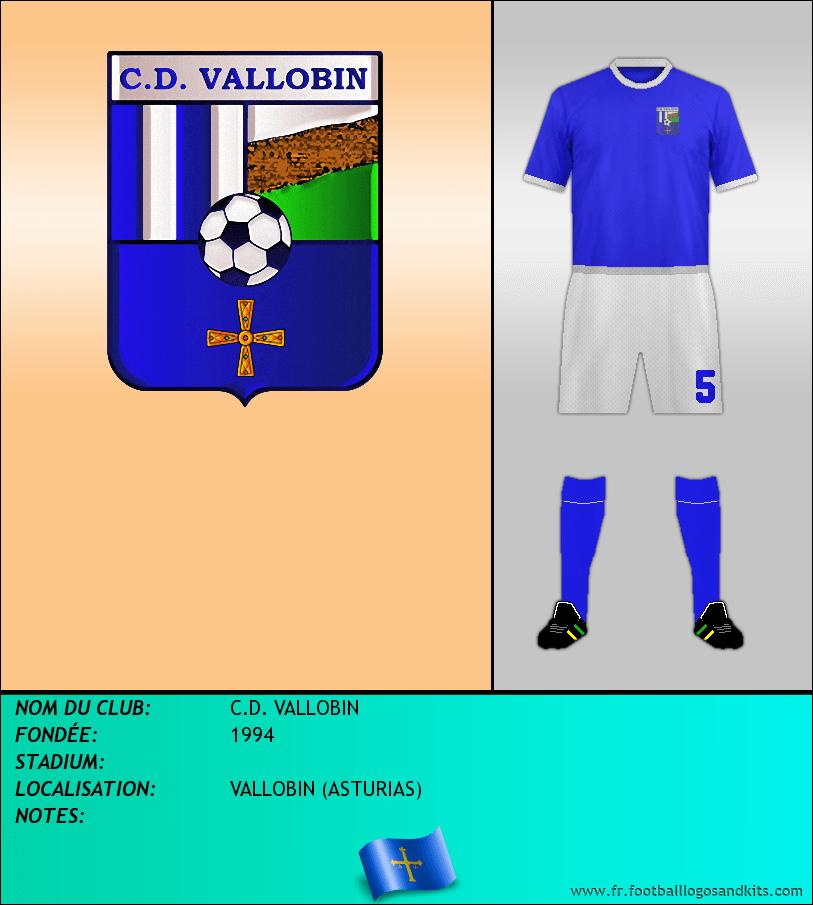 Logo de C.D. VALLOBIN