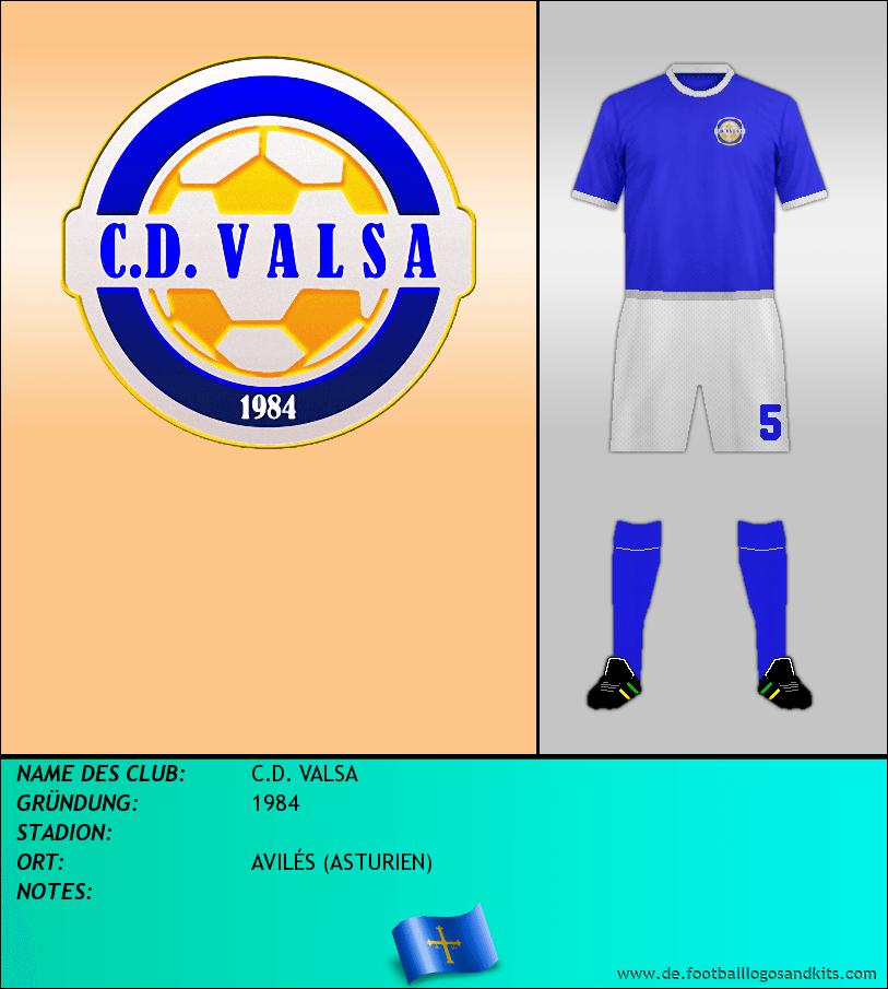 Logo C.D. VALSA
