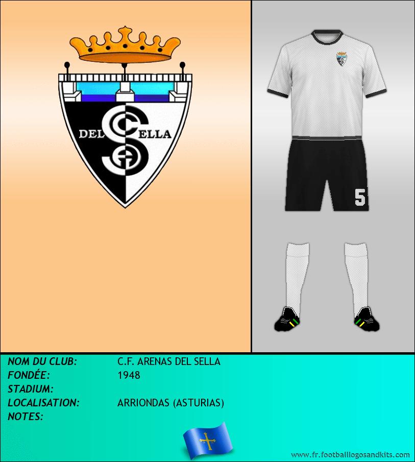 Logo de C.F. ARENAS DEL SELLA