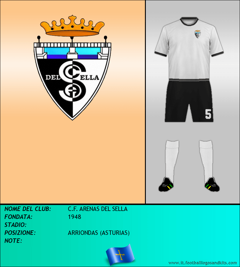 Logo di C.F. ARENAS DEL SELLA