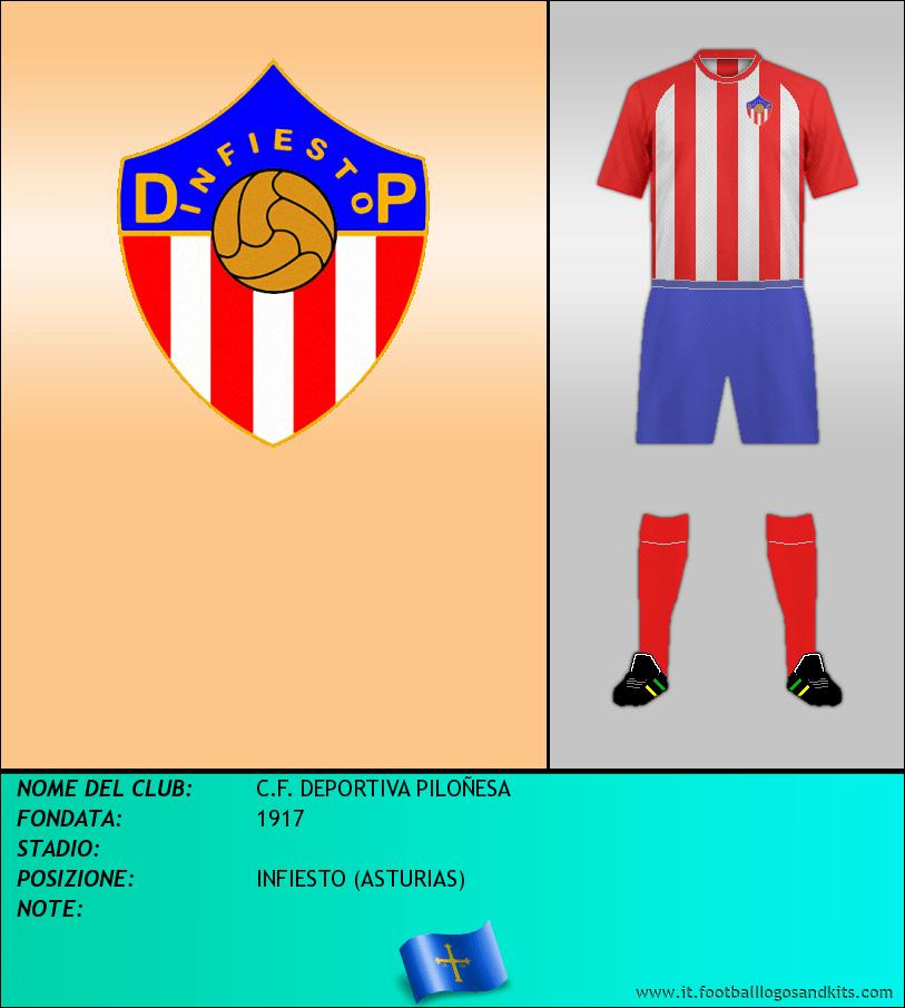 Logo di C.F. DEPORTIVA PILOÑESA