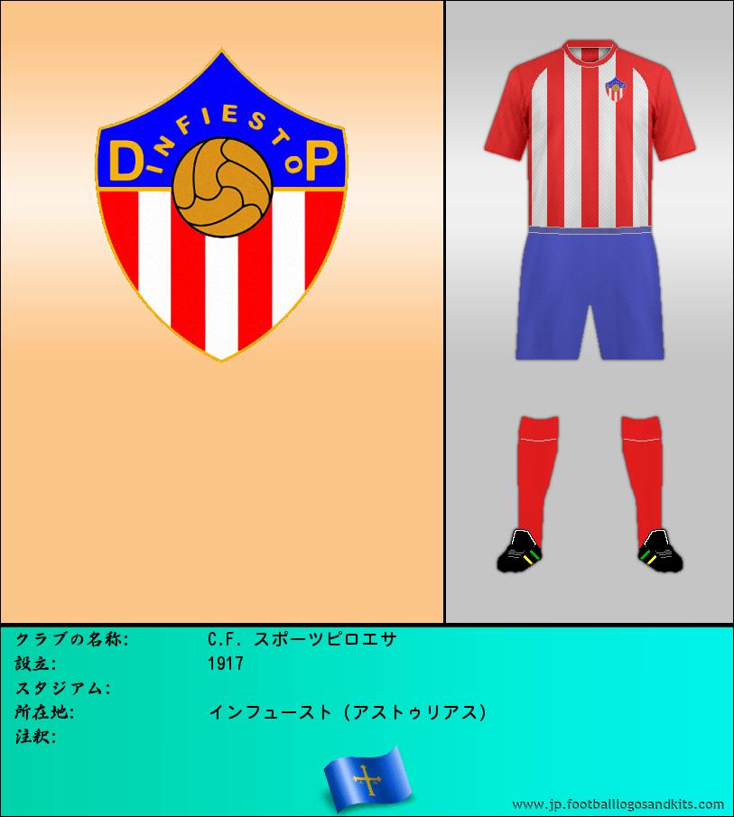 のロゴC. F. スポーツ PILONESA