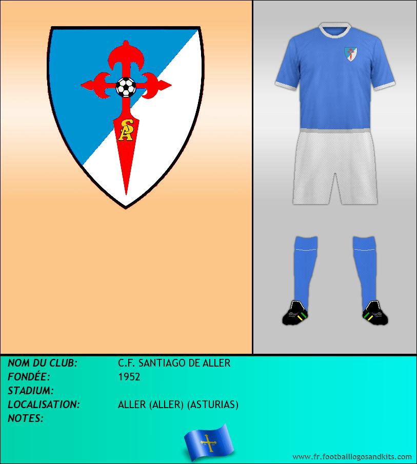 Logo de C.F. SANTIAGO DE ALLER