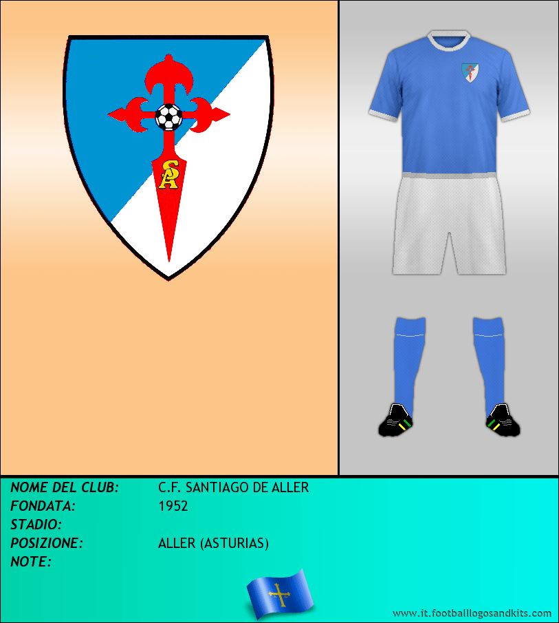 Logo di C.F. SANTIAGO DE ALLER