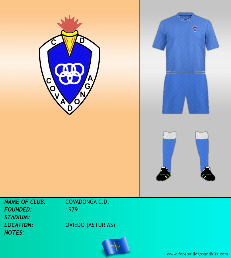 Logo of COVADONGA C.D.