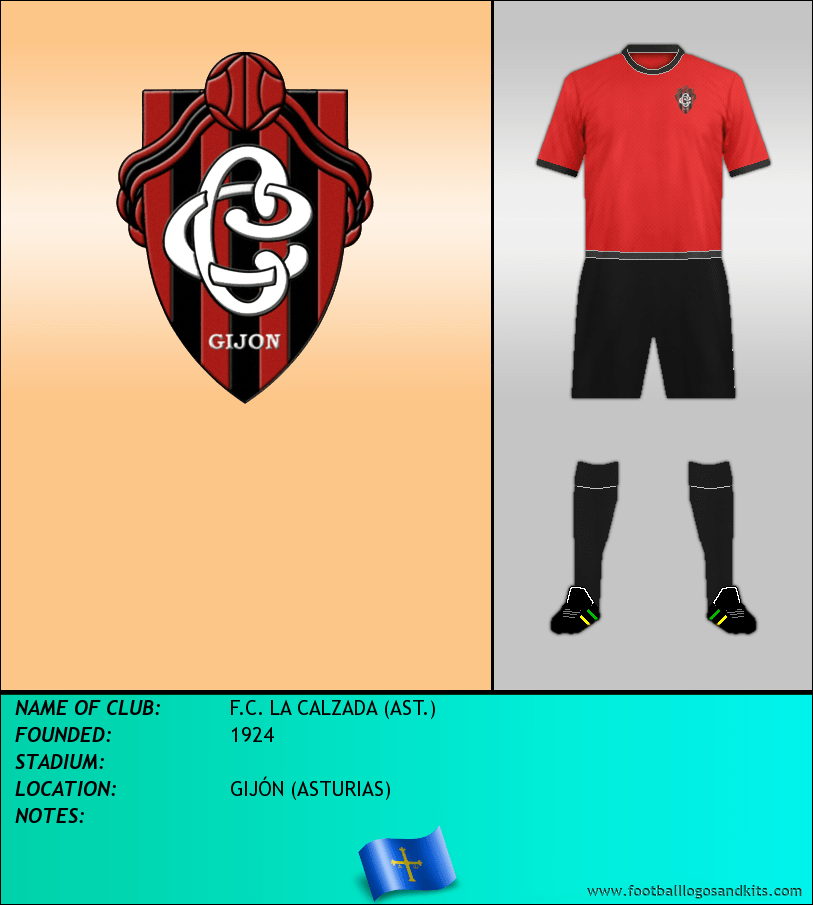 Logo of F.C. LA CALZADA (AST.)