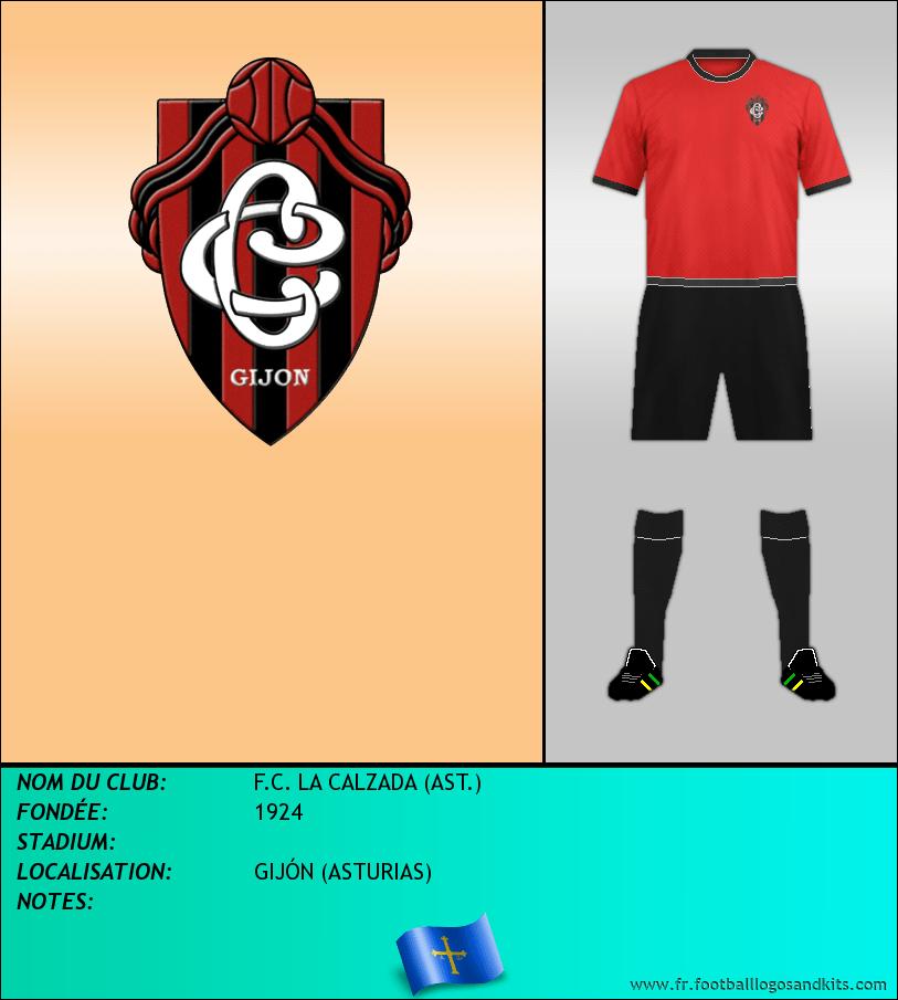 Logo de F.C. LA CALZADA (AST.)