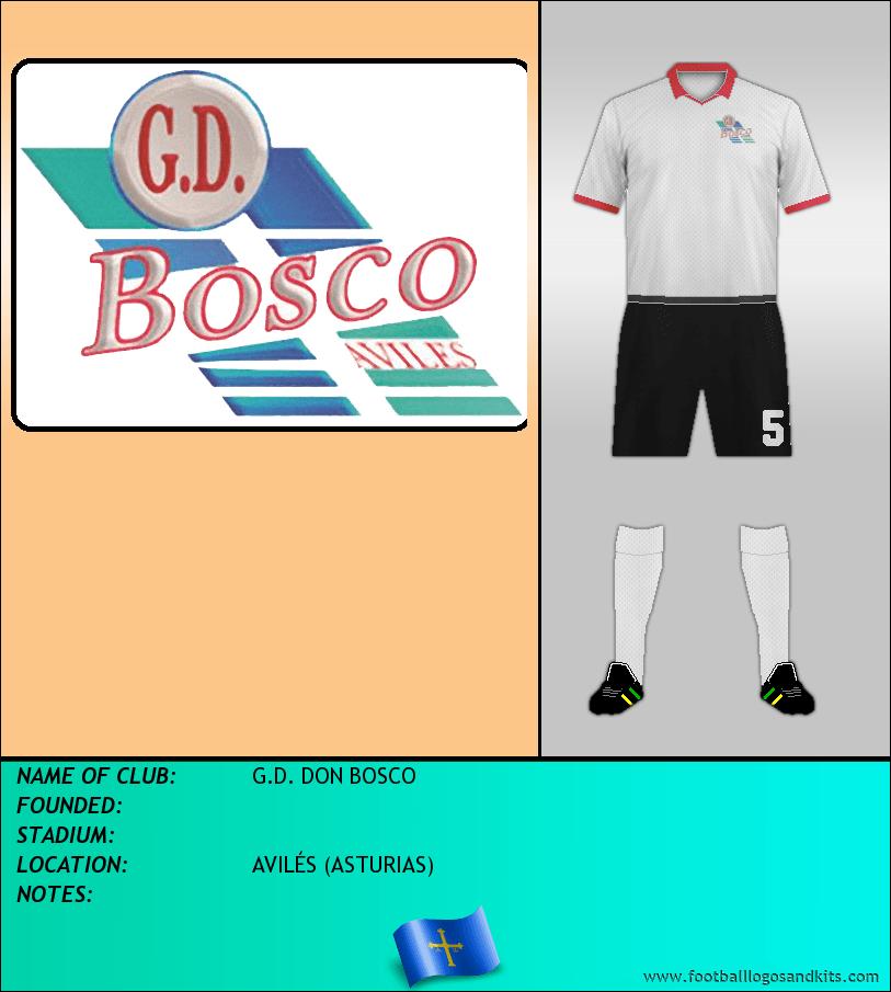 Logo of G.D. DON BOSCO