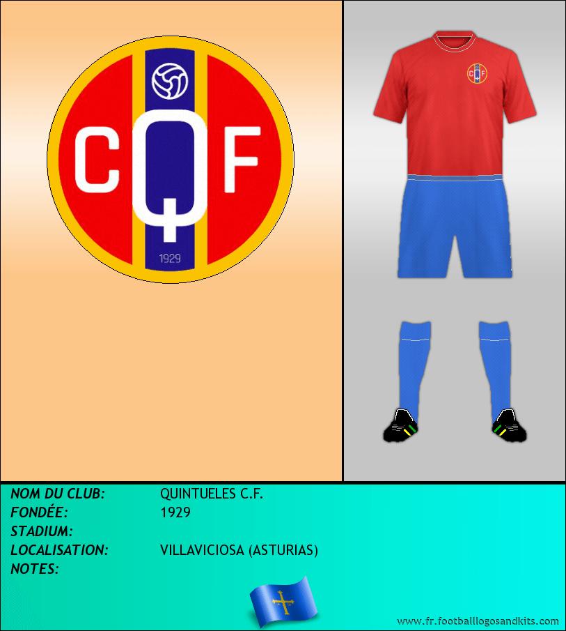 Logo de QUINTUELES C.F.