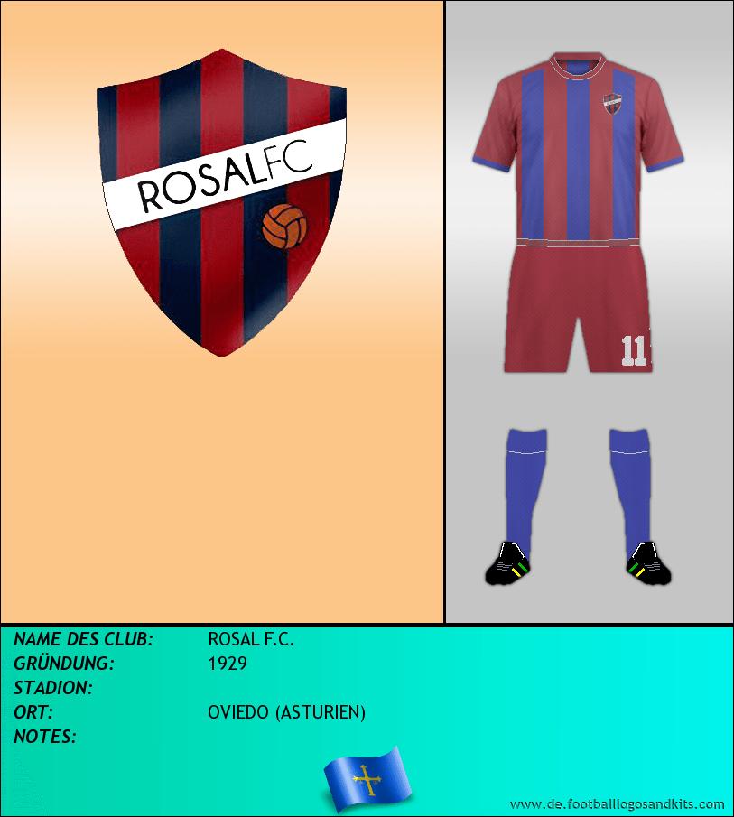 Logo ROSAL F.C.