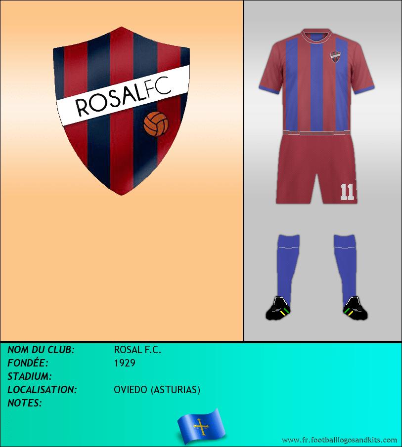 Logo de ROSAL F.C.