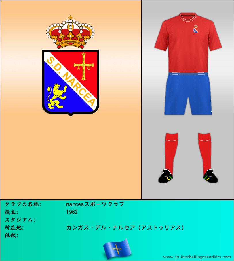 のロゴnarceaスポーツクラブ