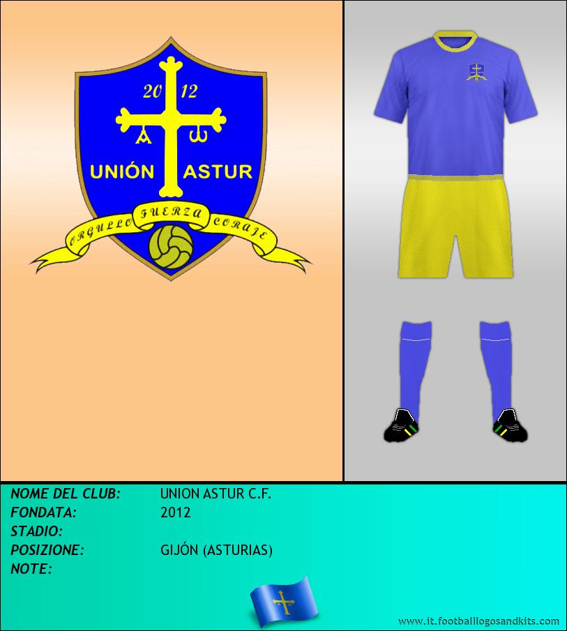 Logo di UNION ASTUR C.F.