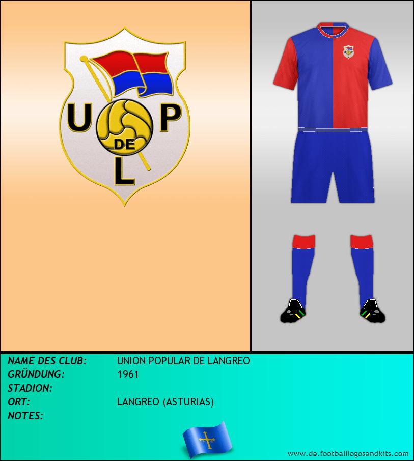 Logo UNION POPULAR DE LANGREO