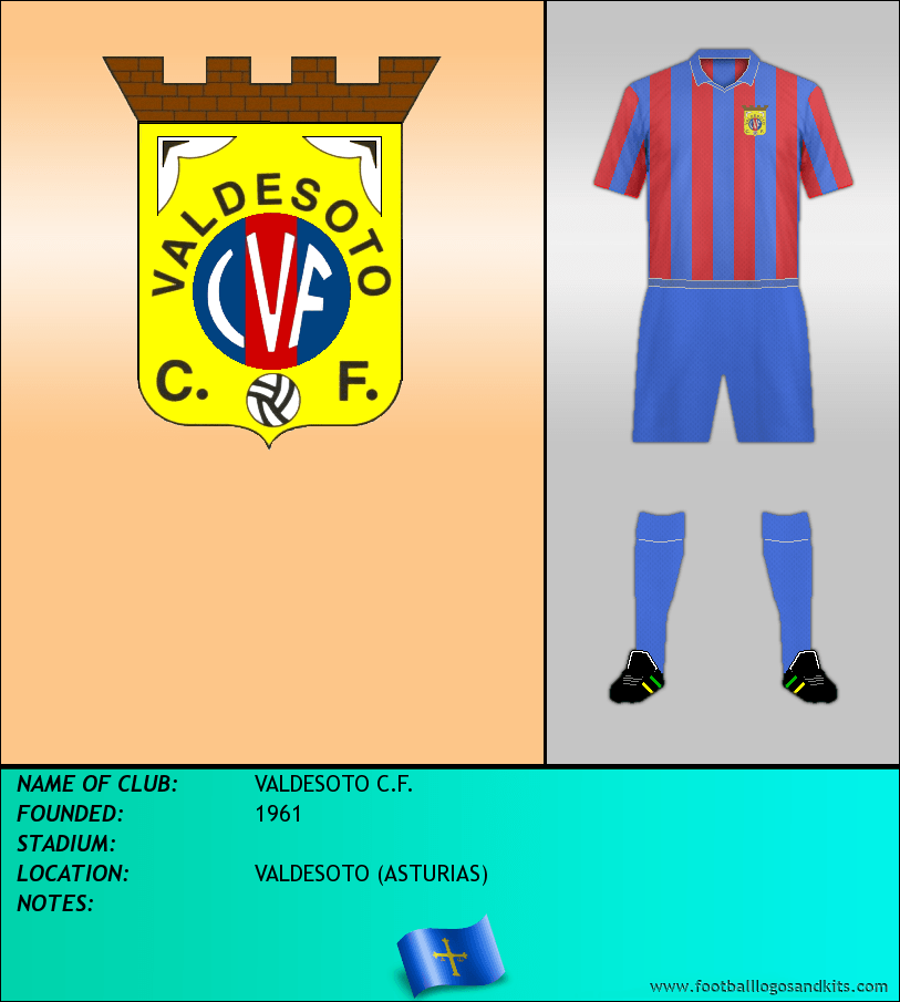 Logo of VALDESOTO C.F.