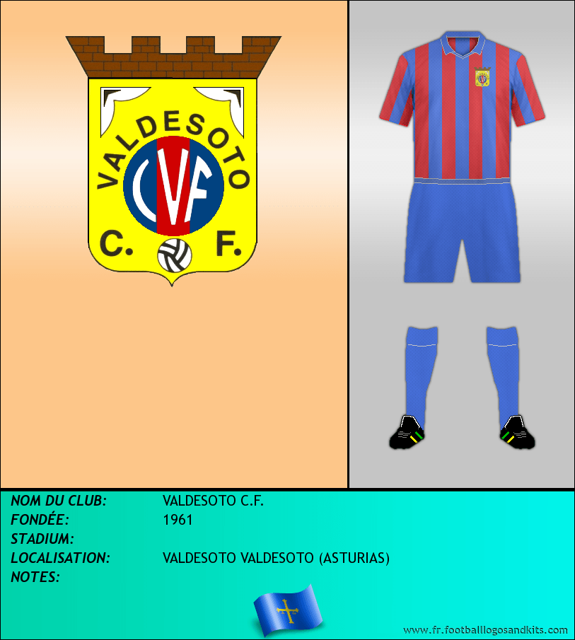 Logo de VALDESOTO C.F.