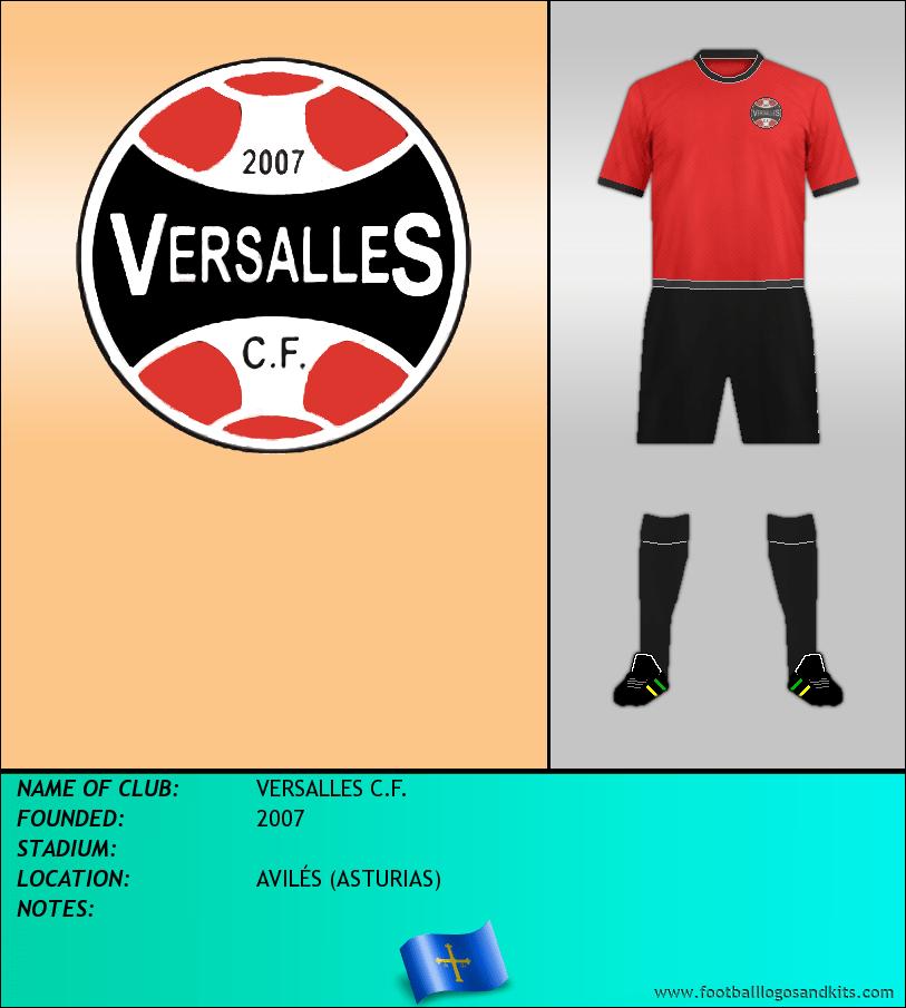 Logo of VERSALLES C.F.