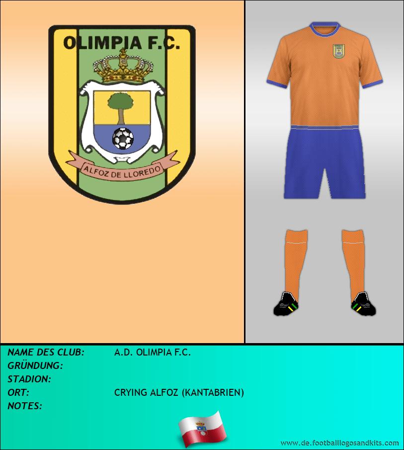 Logo A.D. OLIMPIA F.C.