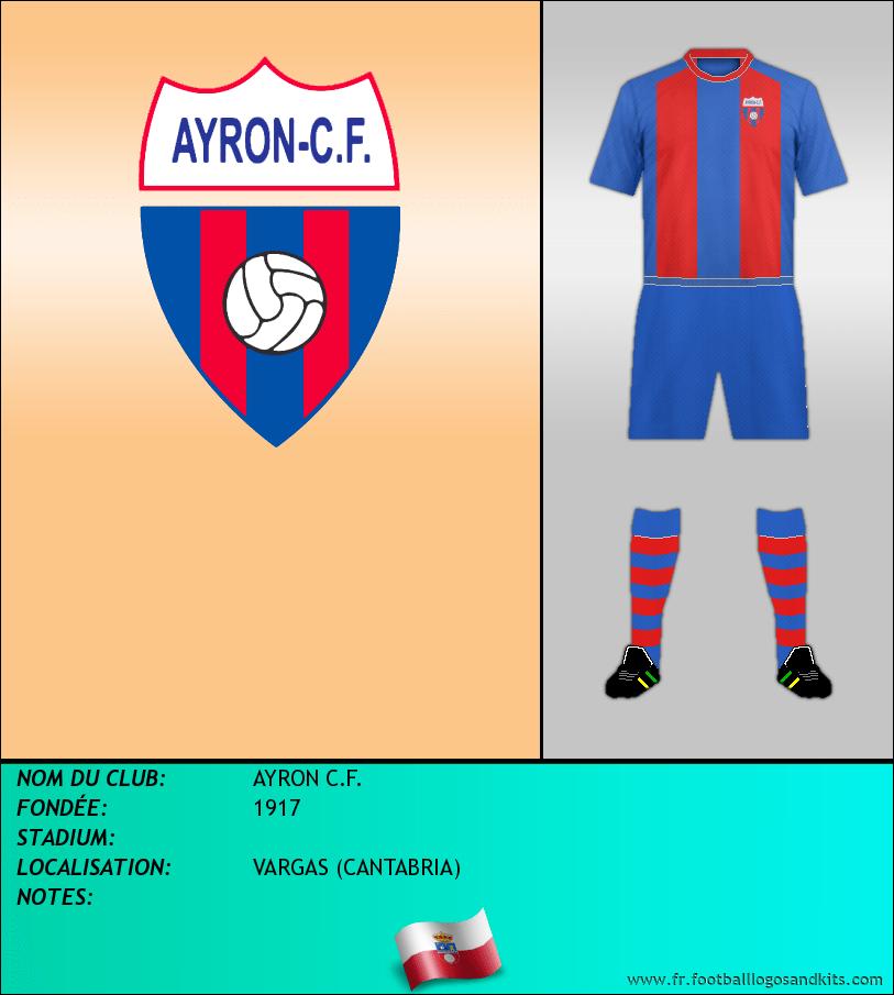 Logo de AYRON C.F.