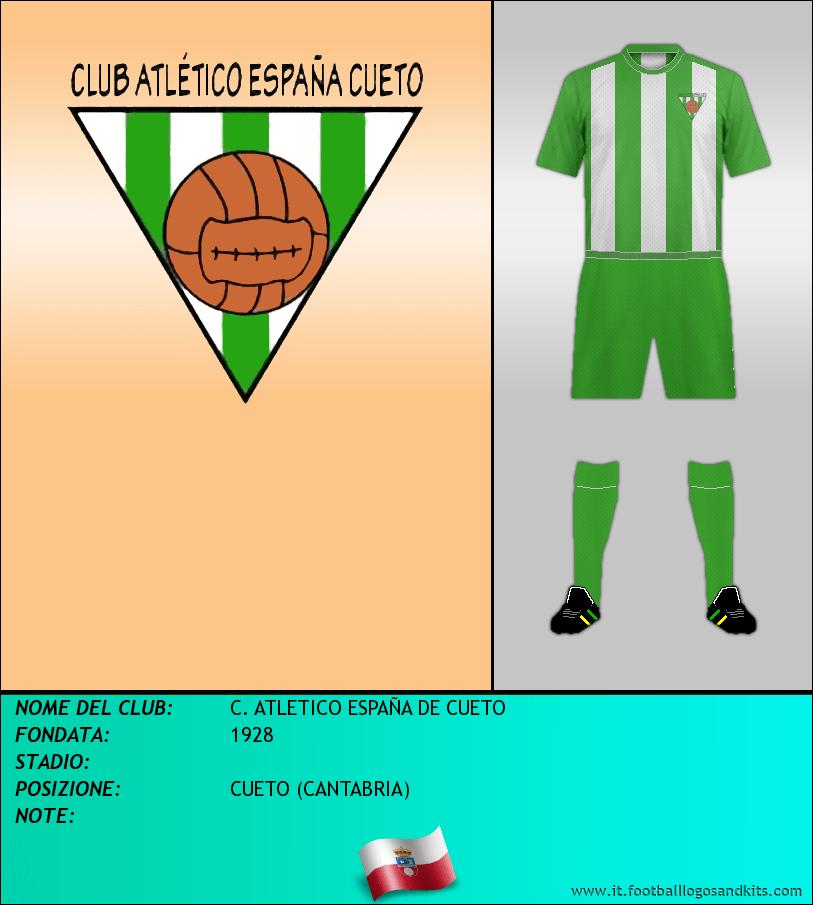 Logo di C. ATLETICO ESPAÑA DE CUETO
