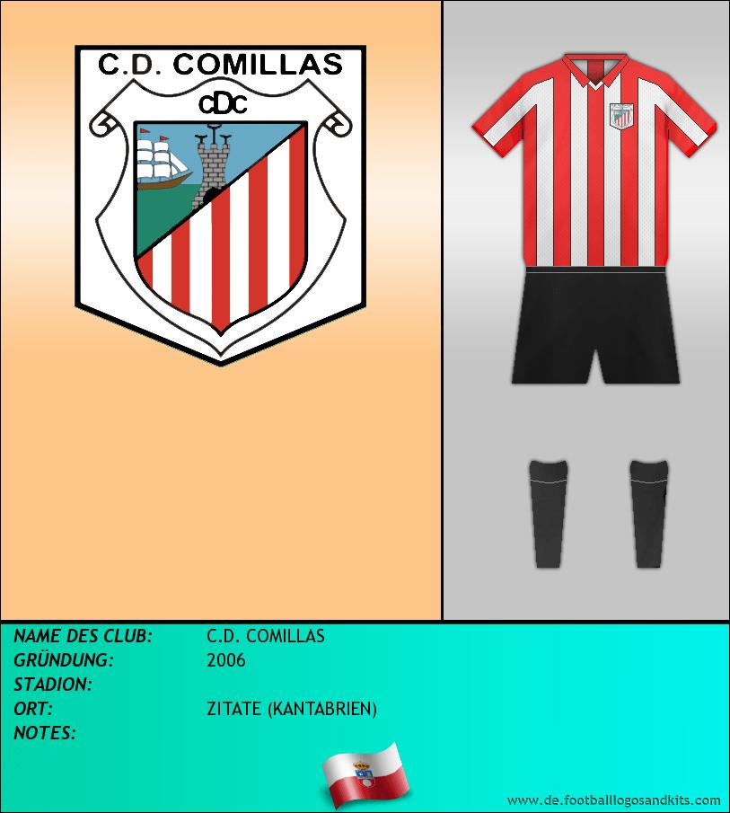 Logo C.D. COMILLAS