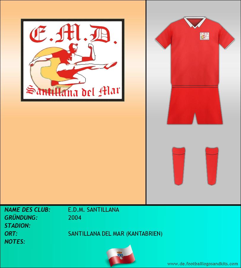 Logo E.D.M. SANTILLANA