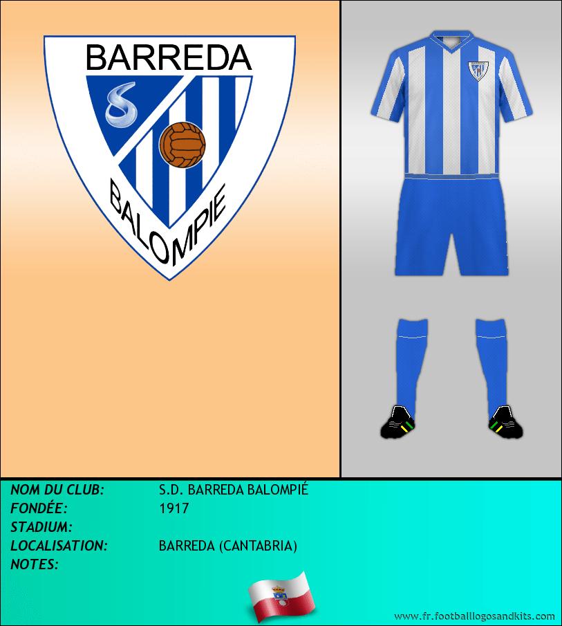 Logo de S.D. BARREDA BALOMPIÉ