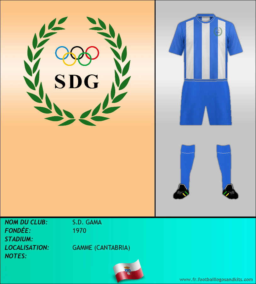 Logo de S.D. GAMA