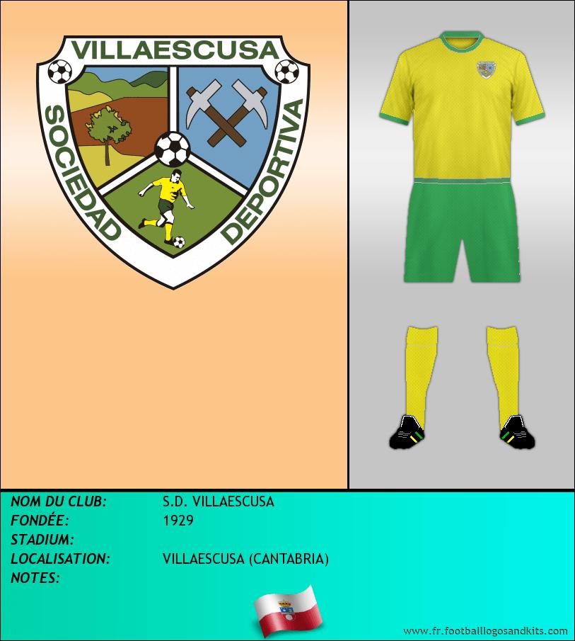 Logo de S.D. VILLAESCUSA
