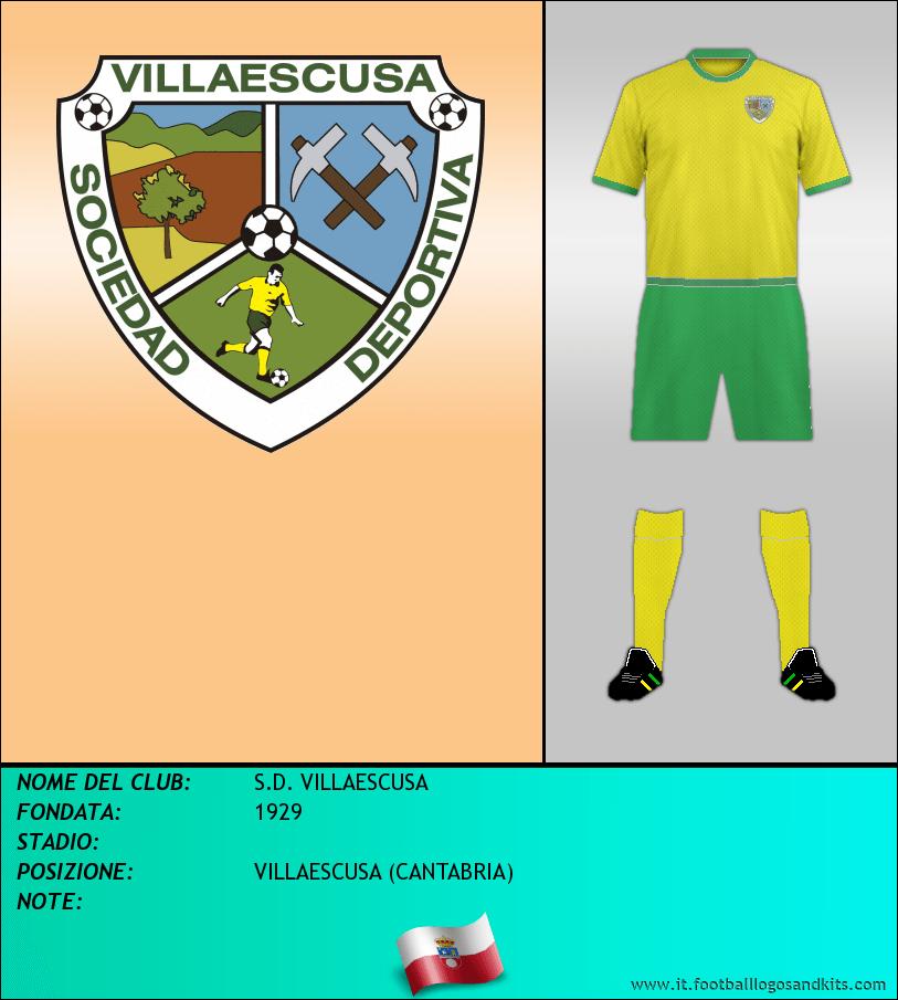 Logo di S.D. VILLAESCUSA