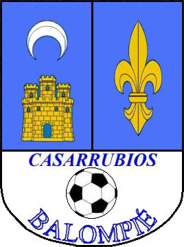 Logo di C.D.E. CASARRUBIOS BALOMPIÉ (CASTIGLIA-LA MANCIA)