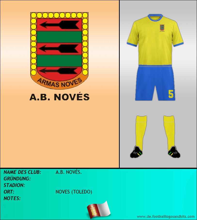 Logo A.B. NOVÉS.