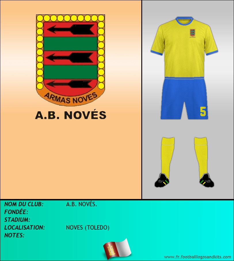 Logo de A.B. NOVÉS.