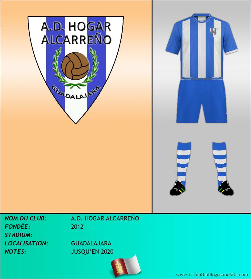 Logo de A.D. HOGAR ALCARREÑO