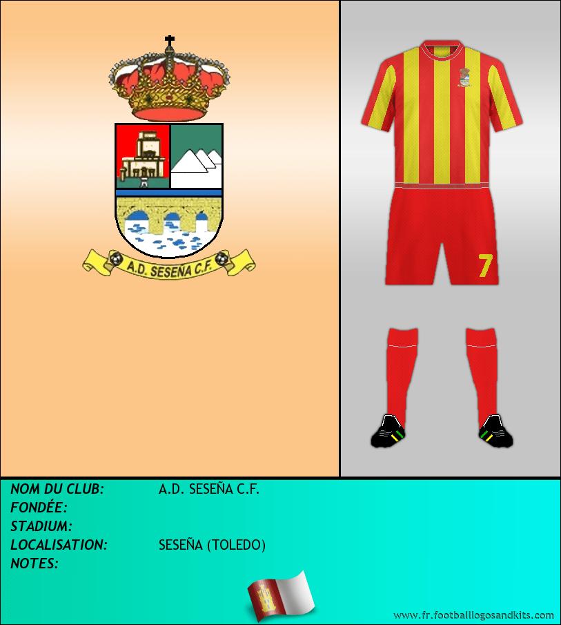 Logo de A.D. SESEÑA C.F.