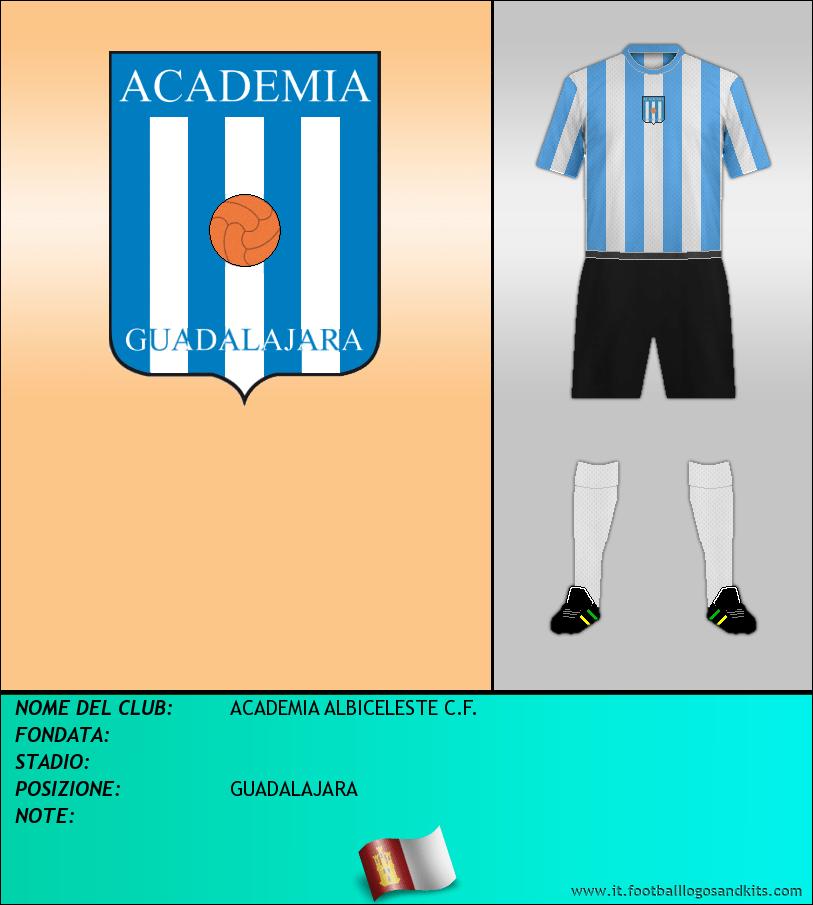 Logo di ACADEMIA ALBICELESTE C.F.