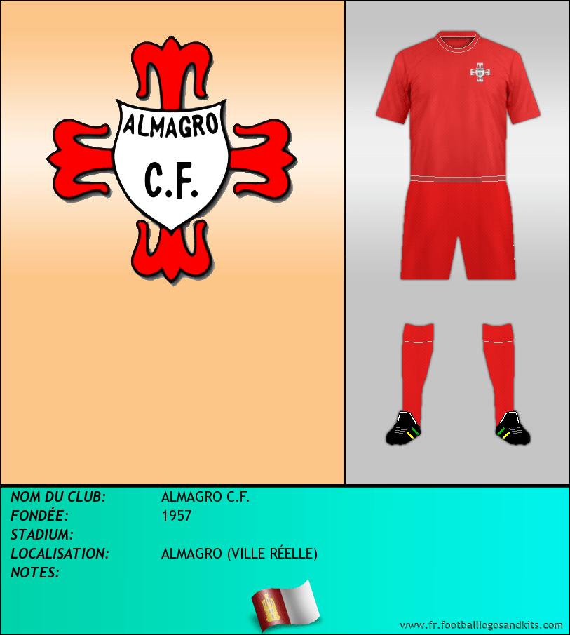 Logo de ALMAGRO C.F.