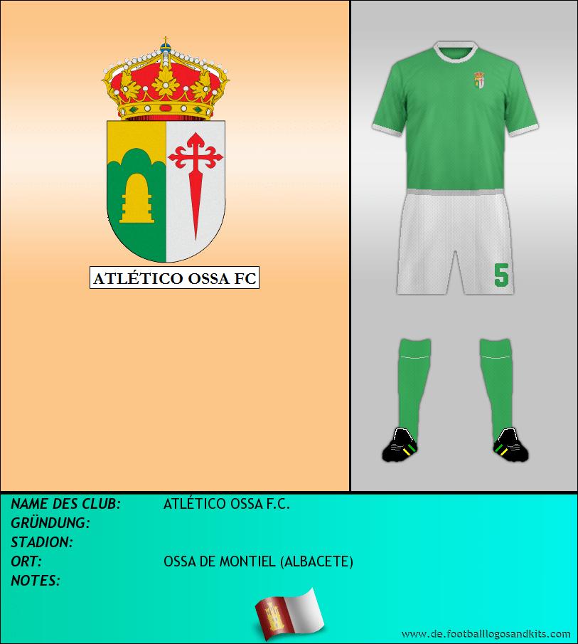 Logo ATLÉTICO OSSA F.C.