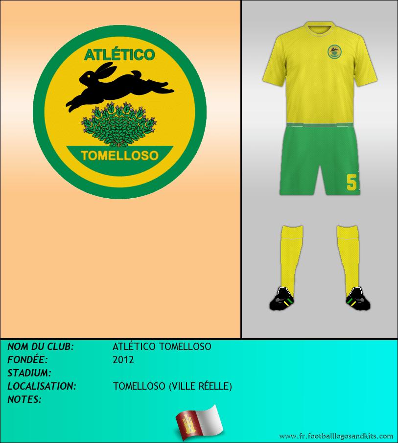 Logo de ATLÉTICO TOMELLOSO