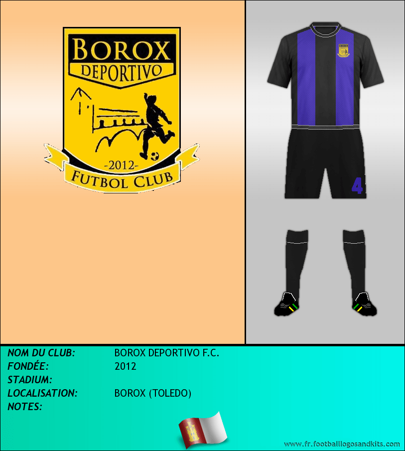 Logo de BOROX DEPORTIVO F.C.