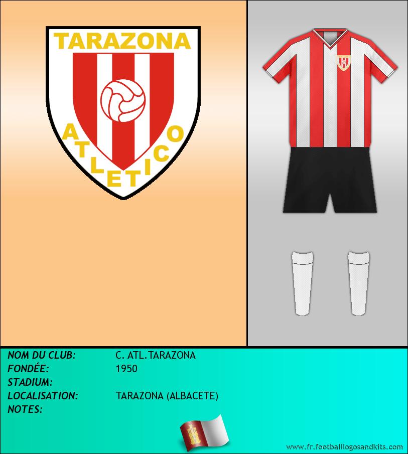 Logo de C. ATL.TARAZONA