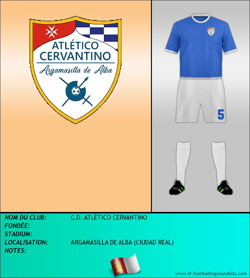 Logo de C.D. ATLÉTICO CERVANTINO