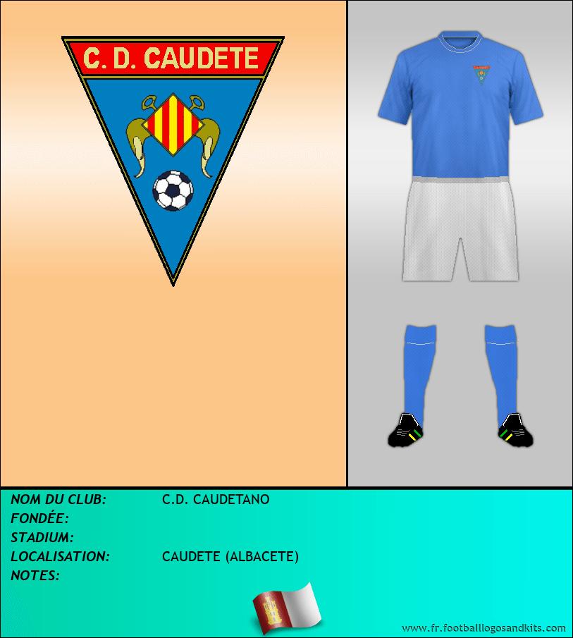 Logo de C.D. CAUDETANO